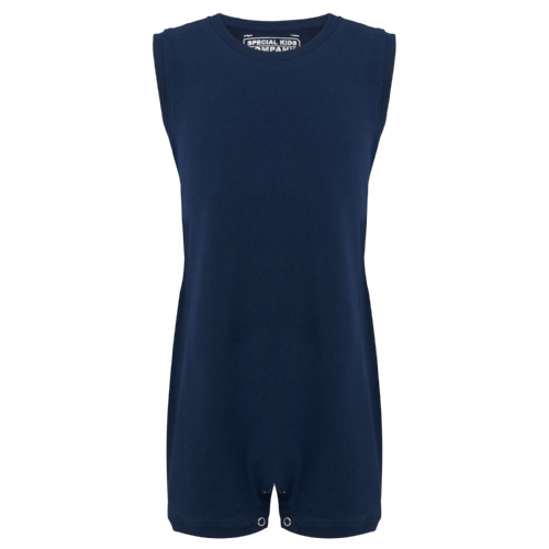 KayCey Super Soft Body Suit - Sleeveless - NAVY from